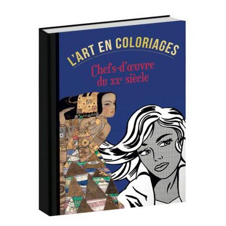 L'art en coloriage, Chefs-d'oeuvre du XXe siècle