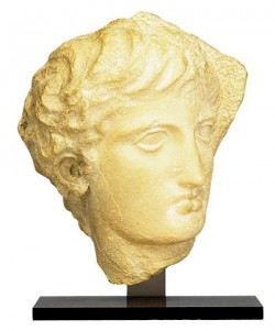 Greek Ephebe statuette (resin)