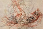 Joseph Parrocel, Jésus endormi au milieu de la tempête avec ses disciples