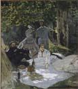 Claude Monet, Le Déjeuner sur l'herbe 1865-1866.