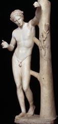 Anonyme, réplique du type de l'Apollon Sauroctone