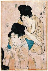 UTAMARO Kitagawa (1753-1806)