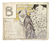 L'Alphabet sentimental - B comme bouderie (1893)