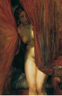 Antoine Wiertz, L'Attente, 1844, huile sur toile. Bruxelles, Musées royaux des Beaux-Arts de Belgique, inv.1933.