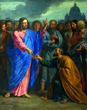 La remise des clefs à saint Pierre