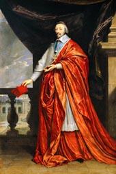 Portrait du cardinal duc de Richelieu, vers 1640
