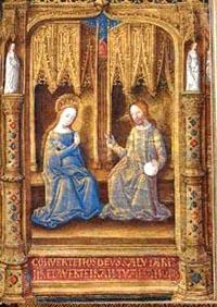 Heures de Guyot Le Peley, à l'usage de Troyes. Parch., France (Bourges) vers 1475-1480. Troyes, MAT, ms 3901