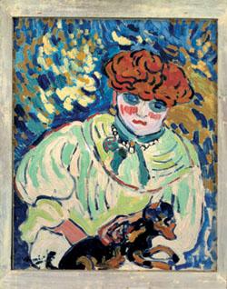 Femme au chien (1906)