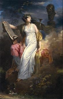 Calliope, muse qui préside au Poème épique