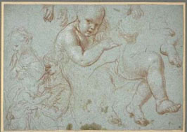 Pierre Mignard, Mère et Enfant