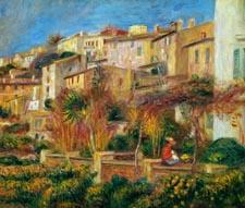 Pierre-Auguste Renoir Terrasse à Cagnes, 1905