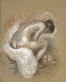 Nu assis. P.-A. Renoir