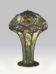 Louis C. Tiffany. Lampe