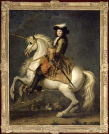 Portrait équestre de Louis XIV