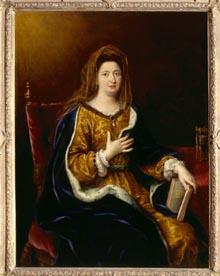 Portrait de Madame de Maintenon en sainte Françoise romaine