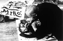 Portrait de Joan Miró