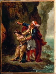 Eugène Delacroix, (1798-1863)