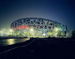 Stade olympique, 2005-2008 Tirage C-print © Ai Weiwei