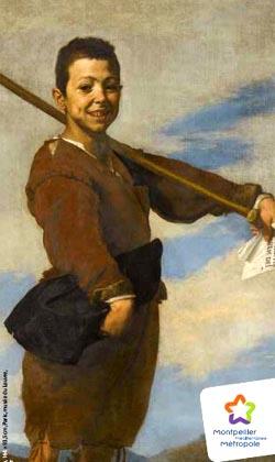 Jusepe de Ribera, Le Pied-bot, 1642, huile sur toile, Paris, musée du Louvre