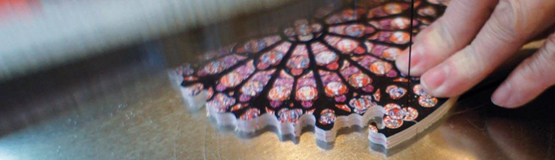 Puzzle d'art en bois Michèle Wilson
