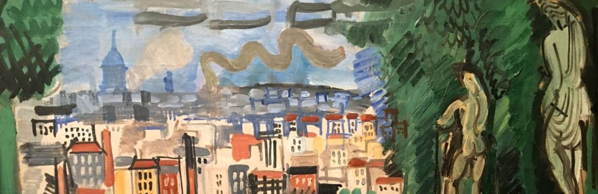 Exhibition catalogue Dufy's Paris - Musée de Montmartre, Paris