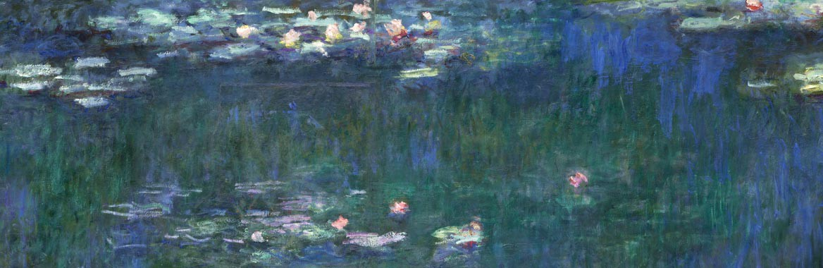 exhibition catalogue The Water Lilies. American Abstract Painting and the last Monet